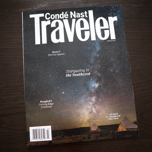 Conde Naste Traveler Magazine March 2021 Stargaze